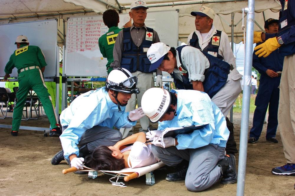 応急救護所の開設・運営.JPG