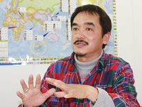 代表取締役社長 高橋雅之さん