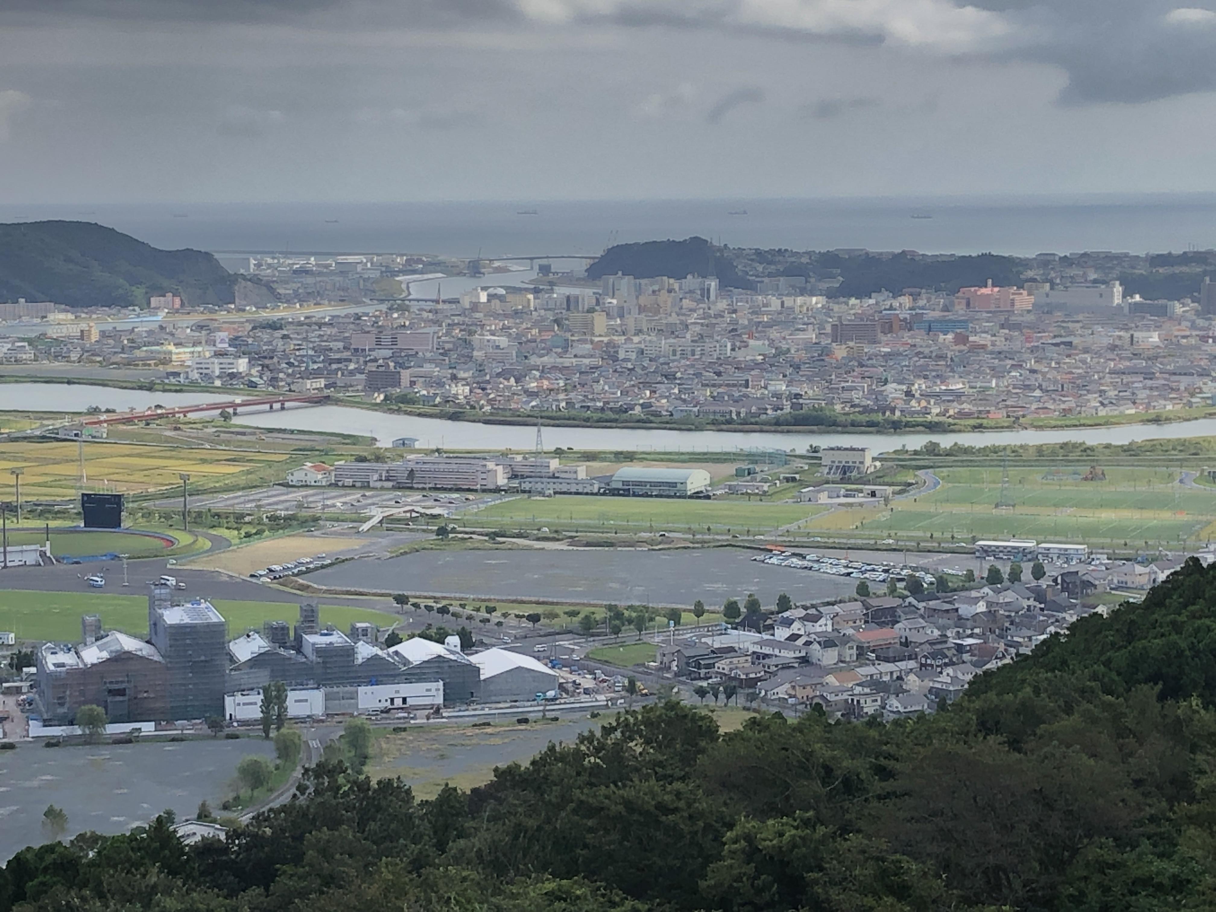 仮設の解体がほぼ終わった開成南境地区.JPG